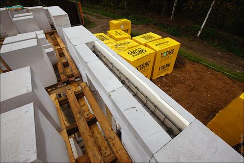 Армирование газосиликатных блоков